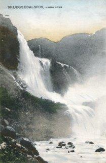 Skjæggedalsfos, Hardanger