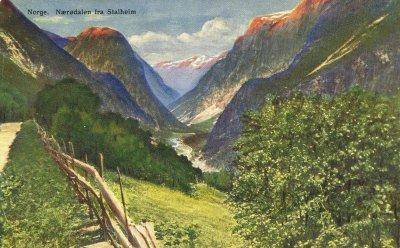 Nærødalen fra Stalheim