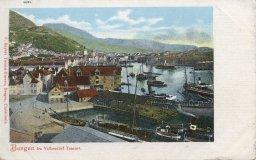 Bergen fra Valkendorf taarnet