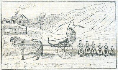 En Norsk skydsstation i vore dage