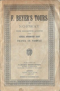 F. Beyer's Tours in Norway